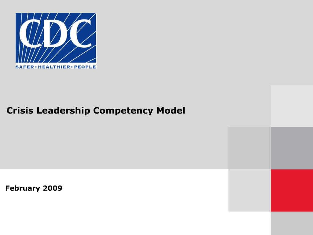 crisis leadership competency model l.