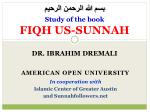 study of the book fiqh us sunnah