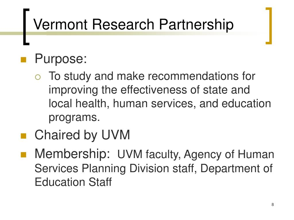 Vermont Research Partnership