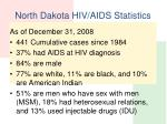 north dakota hiv aids statistics