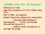 women and hiv in nagaland