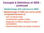 concepts definitions of aids continued12