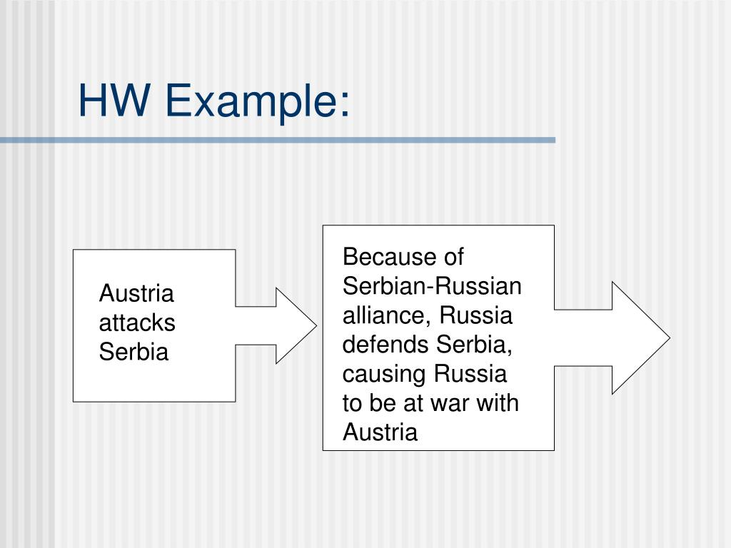 HW Example: