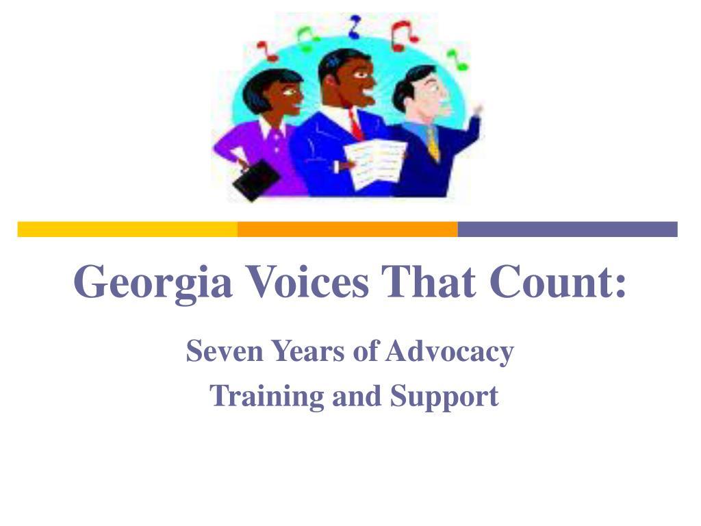 georgia voices that count l.