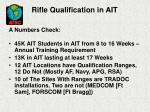 rifle qualification in ait32
