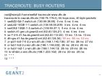 traceroute busy routers