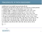traceroute ip path discovery