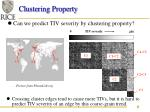 clustering property