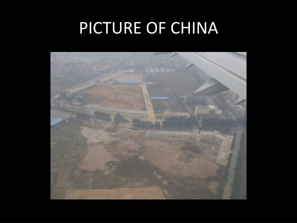 PICTURE OF CHINA