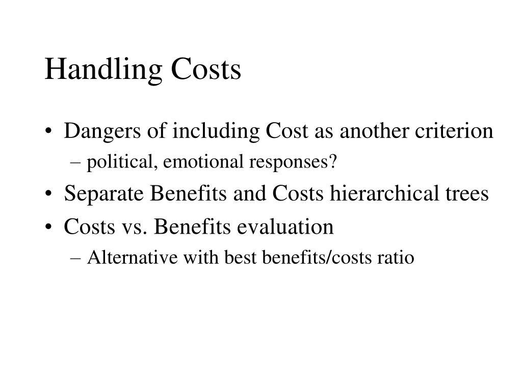 Handling Costs