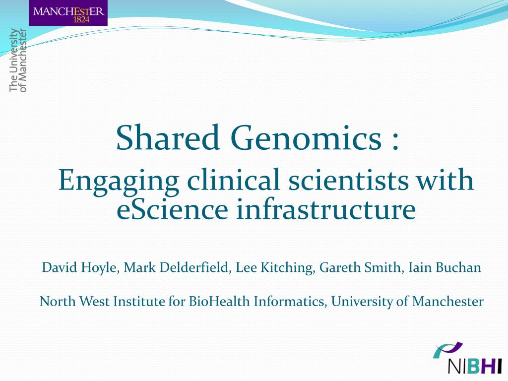 Shared Genomics :