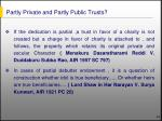 partly private and partly public trusts14