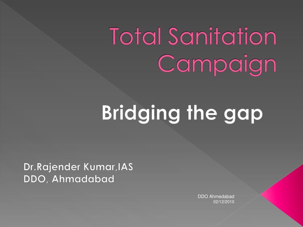 total sanitation campaign l.