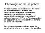 el ecologismo de los pobres15
