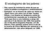 el ecologismo de los pobres17