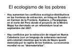 el ecologismo de los pobres18