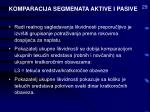 komparacija segmenata aktive i pasive29