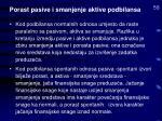 porast pasive i smanjenje aktive podbilansa