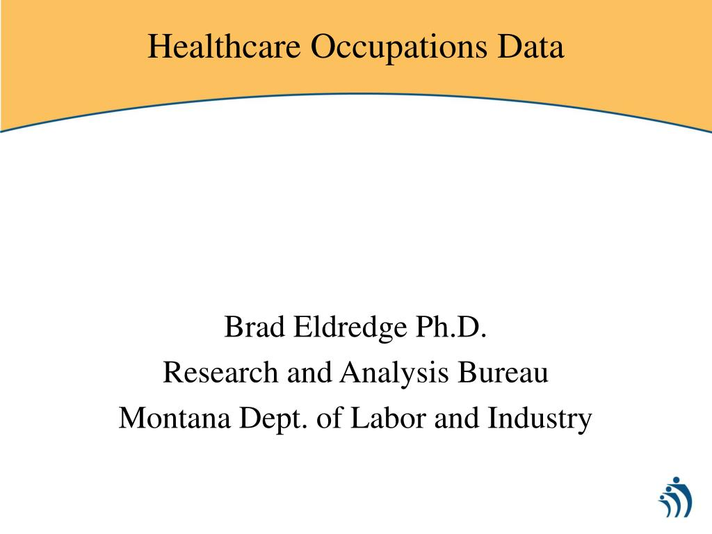 healthcare occupations data l.