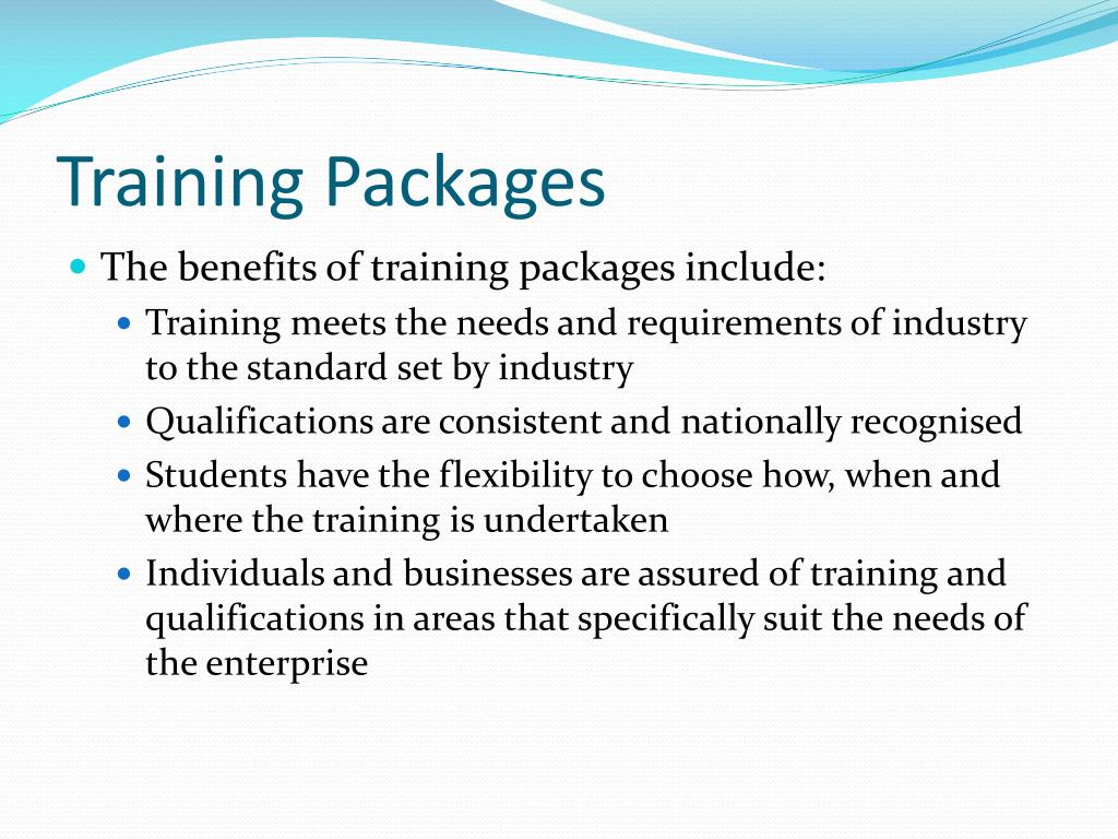 Training Packages