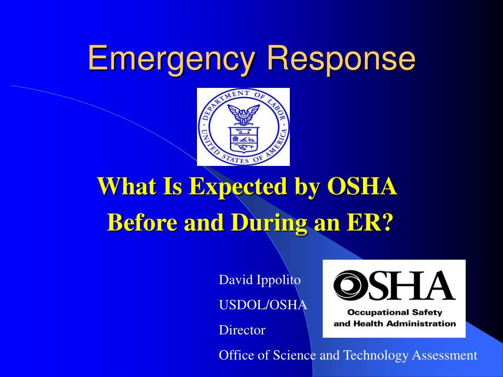 emergency response l.