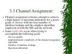 3 3 channel assignment