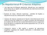 sn hepatorrenal criterios mayores