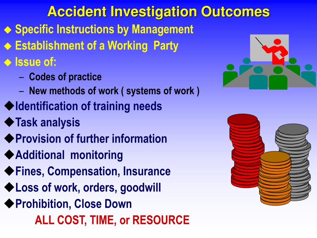 Accident Investigation Outcomes
