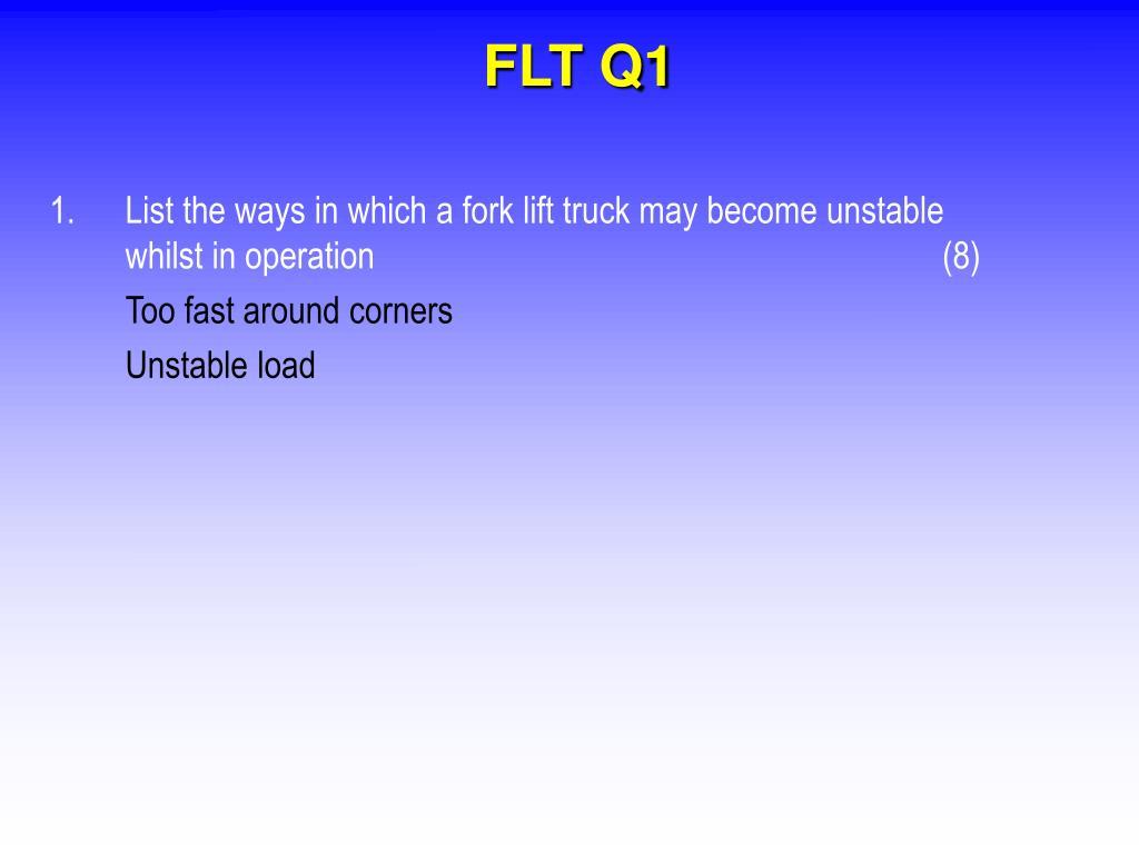 FLT Q1