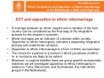 ect and opposition to ethnic intermarriage