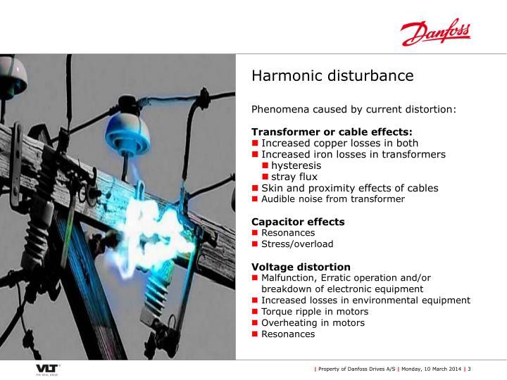 Harmonic disturbance3