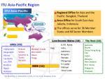 itu asia pacific region