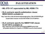 palletization
