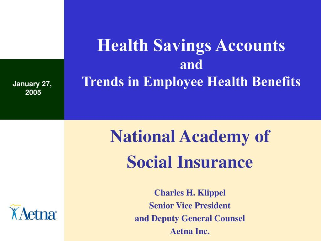 health savings accounts and trends in employee health benefits l.