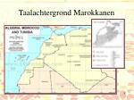 taalachtergrond marokkanen1