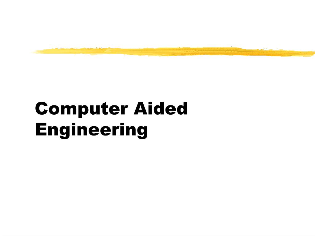 computer aided engineering l.