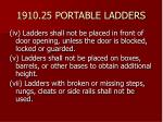 1910 25 portable ladders37