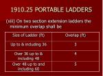 1910 25 portable ladders39