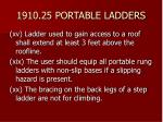1910 25 portable ladders40
