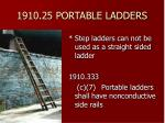 1910 25 portable ladders41