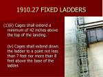 1910 27 fixed ladders47