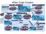 ngen code creation