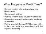what happens at prejit time