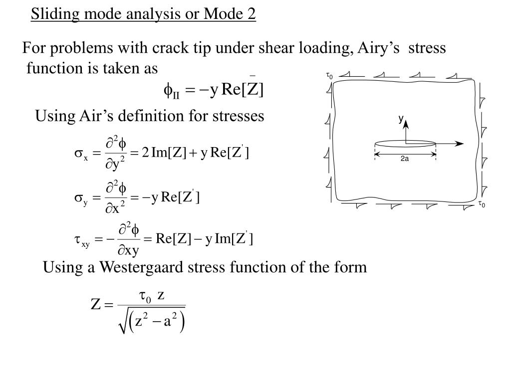 Sliding mode analysis or Mode 2
