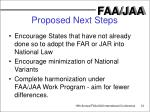 proposed next steps13