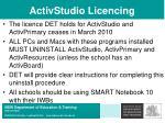 activstudio licencing