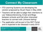 connect my classroom