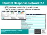 student response network 2 1