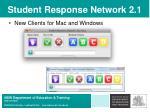 student response network 2 143