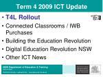 term 4 2009 ict update